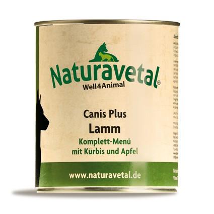 Canis Plus Lamm Komplett Menü 820g