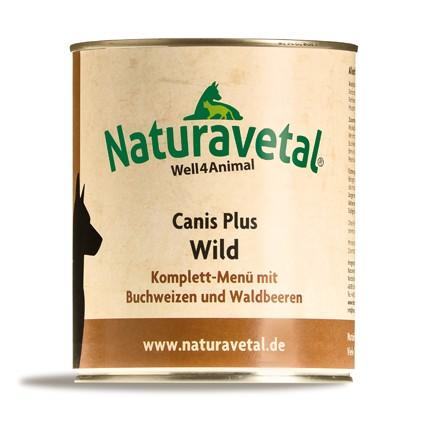 Canis Plus Wild Komplett Menü 820g