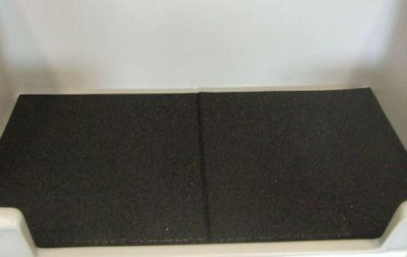 Badematte wasserdurchlässig 50x50 cm