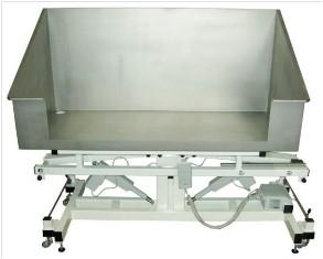 Badewanne Edelstahl, elektrisch 1.300x600 mm