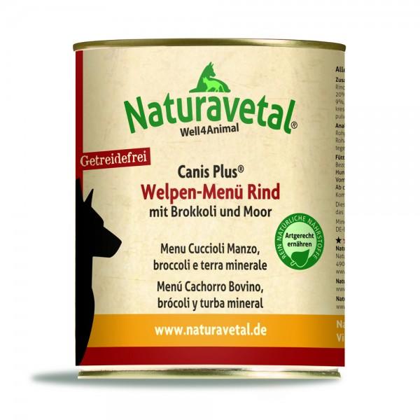 Canis Plus Welpen-Menü Rind 820g