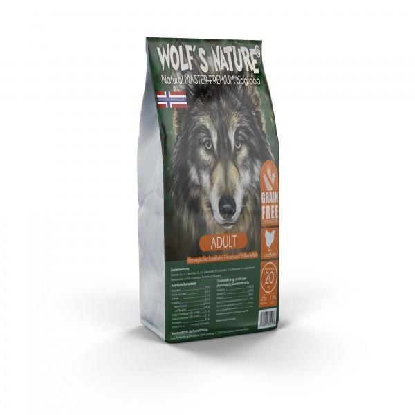 Wolf's Nature Landhuhn 20 kg